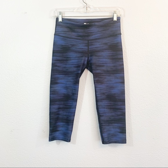 With X Equinox Collaboration Cropped Leggings